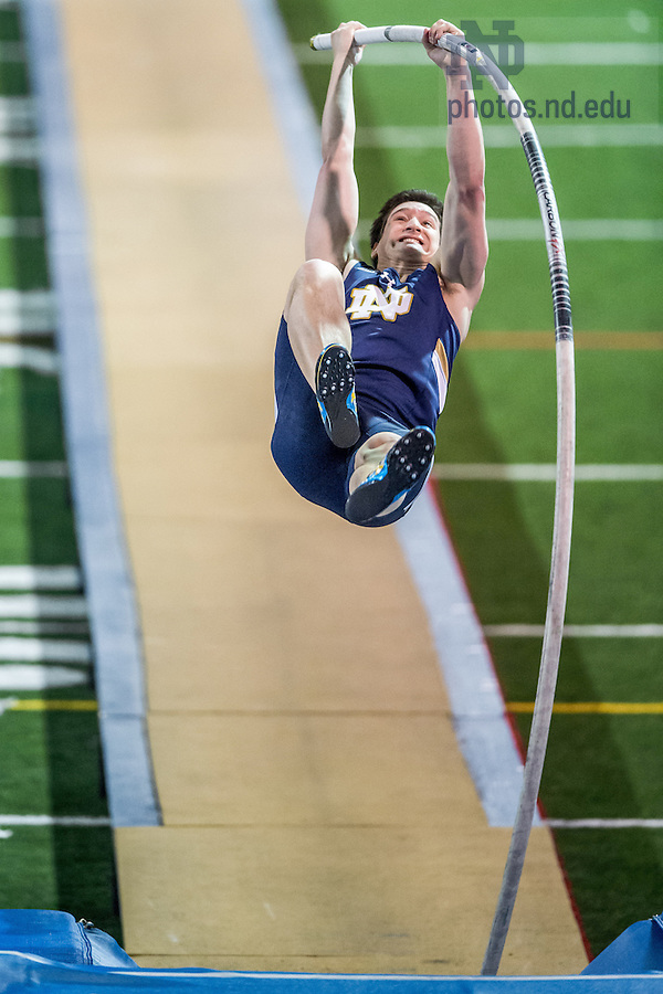 Feb. 21, 2015; Track & Field Alex Wilson Invitational. (Photo by Matt Cashore/University of Notre Dame)