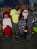 21 December 2018 - Los Angeles, California - Santa, Atmosphere. Los Angeles Mission Christmas Meal for the Homeless held at Los Angeles Mission. Photo Credit: F. Sadou/AdMedia