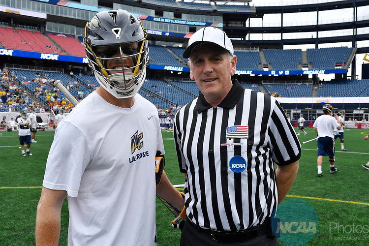 FOXBORO, MA - MAY 28: A detailed view of an NCAA referee during the Division II Men's Lacrosse Championship held at Gillette Stadium on May 28, 2017 in Foxboro, Massachusetts. (Photo by Larry French/NCAA Photos via Getty Images)