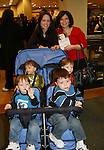 "All My Children's ""Spike"" - Benjamin, Caleb and Alex and mom Bonnie & grandmother at ""Kendall's"" new novel ""Charm"" signing for fans on February 20, 2008 at Barnes &Noble in Clifton, New Jersey. (Photo by Sue Coflin/Max Photos)"
