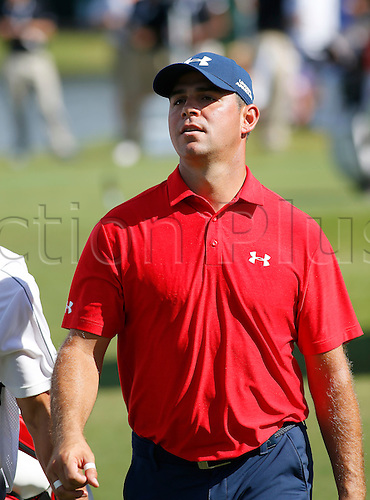 23.09.2016. Atlanta, Georgia, USA.  Gary Woodland during the second round of the Tour Championship at the East Lake Golf Club in Atlanta, GA.