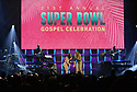MIAMI, FL - JANUARY 30: Le'Andria Johnson and Yolanda Adams perform on stage during the 21st Annual Super Bowl Gospel Celebration at the James L. Knight Center on January 30, 2020 in Miami, Florida.  ( Photo by Johnny Louis / jlnphotography.com )