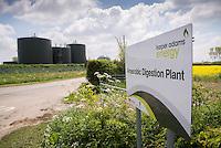 Anaerobic digestion plant, Harper Adams, Newport, Shropshire.
