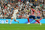 Real Madrid's Marco Asensio during La Liga match between Real Madrid and Atletico de Madrid at Santiago Bernabeu Stadium in Madrid, Spain. September 29, 2018. (ALTERPHOTOS/A. Perez Meca)