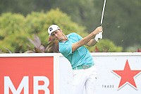 Will MacKenzie (USA) on the 4th tee during Round 3 of the CIMB Classic in the Kuala Lumpur Golf & Country Club on Saturday 1st November 2014.<br /> Picture:  Thos Caffrey / www.golffile.ie