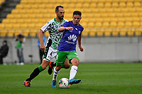 Cameron Devlin of Wellington during the A League - Wellington Phoenix v Western United FC at Sky Stadium, Wellington, New Zealand on Friday 21 February 2020. <br /> Photo by Masanori Udagawa. <br /> www.photowellington.photoshelter.com