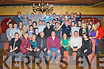 Liam Bergin Killarney seated center who celebrated his 21st birthday with his family and friends in the Killarney Avenue Hotel on Saturday night ..