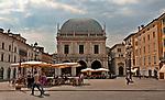 Piazza della Loggia in Brescia, Italy