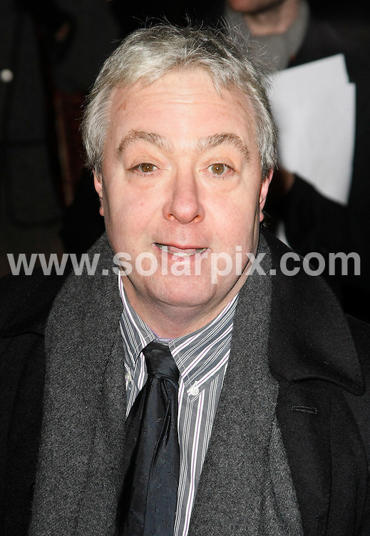 """**ALL ROUND PICTURES FROM SOLARPIX.COM**.**WORLDWIDE SYNDICATION RIGHTS**.Arrivals at the UK premiere of """"The Last Station"""" at The Curzon Mayfair in London on Tuesday 26 January 2010.This pic:   John Sessions .JOB REF:  10551    LNJ     DATE:   26.01.10.**MUST CREDIT SOLARPIX.COM OR DOUBLE FEE WILL BE CHARGED**.**MUST NOTIFY SOLARPIX OF ONLINE USAGE**.**CALL US ON: +34 952 811 768 or LOW RATE FROM UK 0844 617 7637**"""