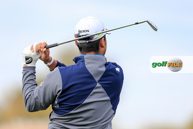 Hideki Matsuyama (JPN) during the preview round of the Waste Management Phoenix Open, TPC Scottsdale, Scottsdale, Arisona, USA. 30/01/2019.<br /> Picture Fran Caffrey / Golffile.ie<br /> <br /> All photo usage must carry mandatory copyright credit (&copy; Golffile | Fran Caffrey)
