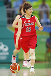 Rui Machida (JPN), AUGUST 6, 2016 - Basketball : <br /> Women's Preliminary Round <br /> between  Japan 77-73 Belorussiya  <br /> at Youth Arena <br /> during the Rio 2016 Olympic Games in Rio de Janeiro, Brazil. <br /> (Photo by Yusuke Nakanishi/AFLO SPORT)
