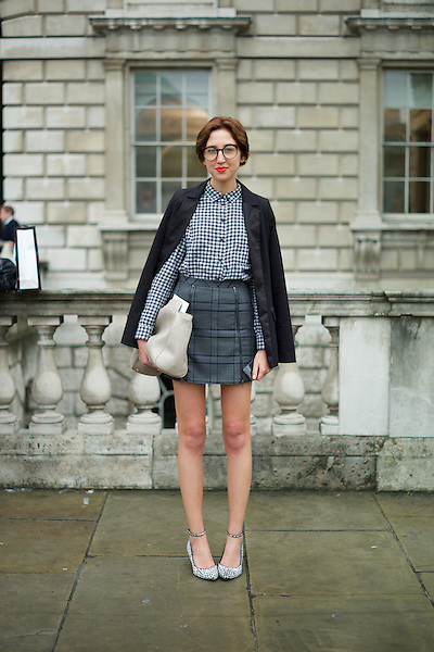 Alice Tate at London Fashion Week