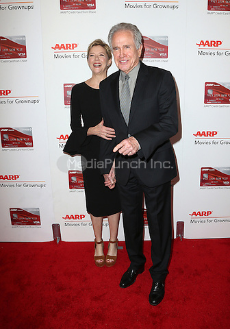 Beverly Hills, CA - FEBRUARY 06: Annette Bening, Warren Beatty, At 16th Annual AARP The Magazine's Movies For Grownups Awards, At The Beverly Wilshire Four Seasons Hotel In California on February 06, 2017. Credit: Faye Sadou/MediaPunch