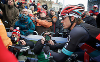 Ronde van Vlaanderen 2013..Fabian Cancellara (CHE) focused at the start