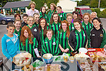Ladies of Churchill GAA Club pictured at their fundraising Cake Sale held outside The Oyster Taver, The Spa on Saturday morning. Front l/r Kate mcCarthy, Clodagh, Eimer & Katie Ellard, Emily Switzer and Mary Jo Daly, 2nd row l/r Caoimhe Mawe, Lynn Cosgrove, Jamie O'Carroll, Blathi?n Griffin, Maeve Conway and Barbara Cosgrove, 3rd row l/r Aoife O'Sullivan, Erin Donnellan, Ena Feale, Ann Ellard and Peggy Daly, back l/r Zoe O'Carroll, Roisi?n Lynch, Caoimhe Hanafin and Breda O'Callaghan.