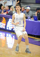 NWA Democrat-Gazette/ANDY SHUPE<br /> Rogers Fayetteville Friday, Feb. 10, 2017, during the second half of play in Bulldog Arena. Visit nwadg.com/photos to see more photographs from the game.