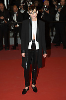 CANNES, FRANCE - MAY 17: Kristen Stewart attends the screening of 'Knife + Heart (Un Couteau Dans Le Couer)' during the 71st annual Cannes Film Festival at Palais des Festivals on May 17, 2018 in Cannes, France. <br /> <br /> Picture: Kristina Afanasyeva/Featureflash/SilverHub 0208 004 5359 sales@silverhubmedia.com