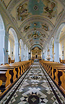 Kościół Świętych Apostołów Piotra i Pawła - wnętrze, Suchowola, Polska<br /> Church of the Holy Apostles Peter and Paul - interior, Suchowola, Poland