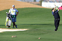Colt Knost (USA) during the 1st round of the Waste Management Phoenix Open, TPC Scottsdale, Scottsdale, Arisona, USA. 31/01/2019.<br /> Picture Fran Caffrey / Golffile.ie<br /> <br /> All photo usage must carry mandatory copyright credit (&copy; Golffile | Fran Caffrey)