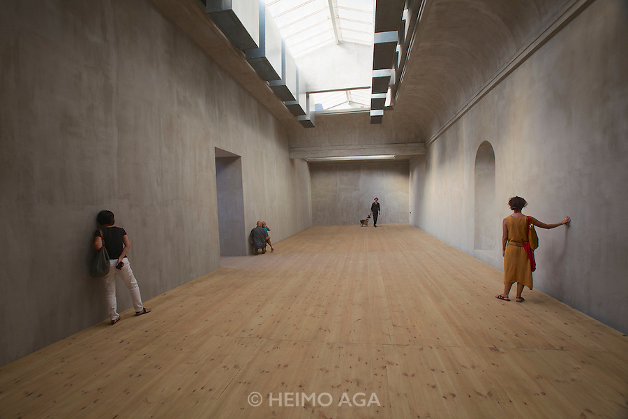 """13th Biennale of Architecture..Giardini..Polish Pavillion..Katarzyna Krakowiak, """"MAKING THE WALLS QUAKE AS IF THEY WERE DILATING WITH THE SECRET KNOWLEDGE OF GREAT POWERS"""", 2012."""