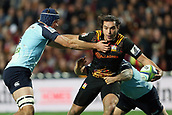 June 3rd 2017, FMG Stadium, Waikato, Hamilton, New Zealand; Super Rugby; Chiefs versus Waratahs;  Chiefs winger James Lowe in action during the Super Rugby rugby match