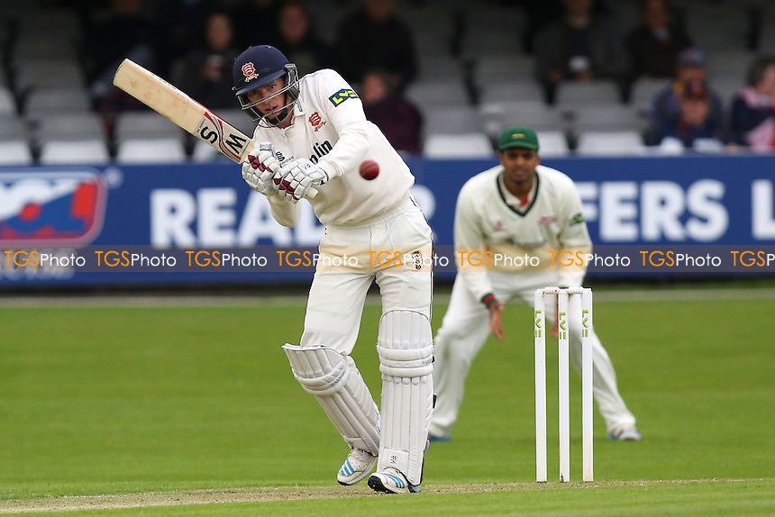 Matt Salisbury hits four runs for Essex - Essex CCC vs Leicestershire CCC - LV County Championship Division Two Cricket at the Essex County Ground, Chelmsford, Essex - 31/05/15 - MANDATORY CREDIT: Gavin Ellis/TGSPHOTO - Self billing applies where appropriate - contact@tgsphoto.co.uk - NO UNPAID USE