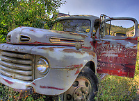 Old Ford Truck - Jerome, Arizona. Gold King Mine