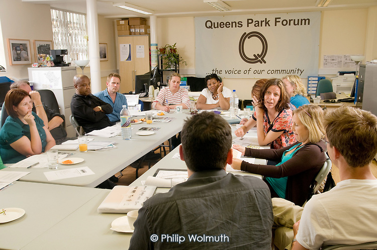Queen's Park Resident Board meeting at the Beethoven Centre