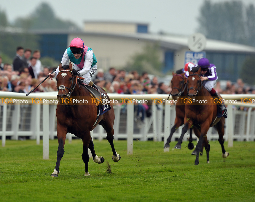 Frankel Ridden by Tom Queally wins the JLT Lockinge Stakes (British Champions Series) (Group 1) Cl1 1m  - Horse Racing at Newbury Racecourse, Berkshire - 19/05/2012 - MANDATORY CREDIT: Martin Dalton/TGSPHOTO - Self billing applies where appropriate - 0845 094 6026 - contact@tgsphoto.co.uk - NO UNPAID USE.