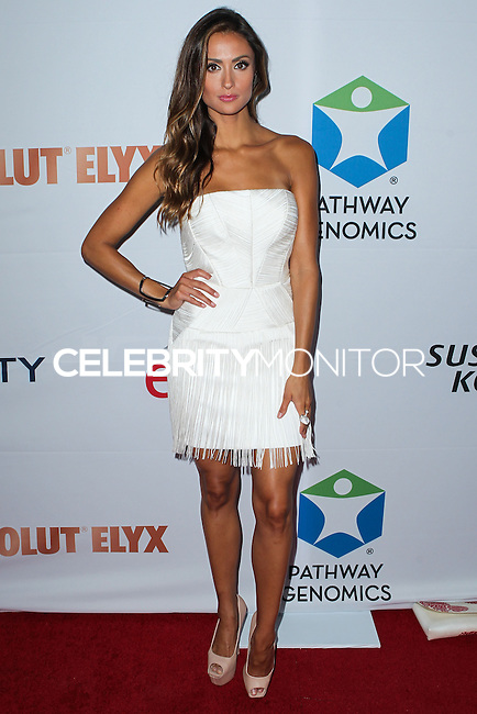SANTA MONICA, CA, USA - JUNE 11: Katie Cleary at the Pathway To The Cures For Breast Cancer: A Fundraiser Benefiting Susan G. Komen held at the Barker Hangar on June 11, 2014 in Santa Monica, California, United States. (Photo by Xavier Collin/Celebrity Monitor)