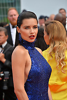 "CANNES, FRANCE. May 22, 2019: Adriana Lima at the gala premiere for ""Oh Mercy!"" at the Festival de Cannes.<br /> Picture: Paul Smith / Featureflash"