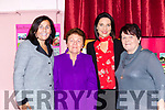 Breda Fleming, Mary O'Sullivan, Leanne O'Sullivan and Breda Roche Gneeveguilla  at the Friends of Chernobyl fashion show in Rathmore on Thursday night