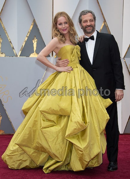 26 February 2017 - Hollywood, California - Leslie Mann and Judd Apatow. 89th Annual Academy Awards presented by the Academy of Motion Picture Arts and Sciences held at Hollywood & Highland Center. Photo Credit: AMPAS/AdMedia