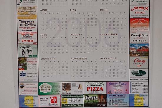 colorado city calendar and business info<br />