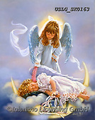 CHILDREN, KINDER, NIÑOS, paintings+++++,USLGSK0163,#K#, EVERYDAY ,Sandra Kock, victorian ,angels
