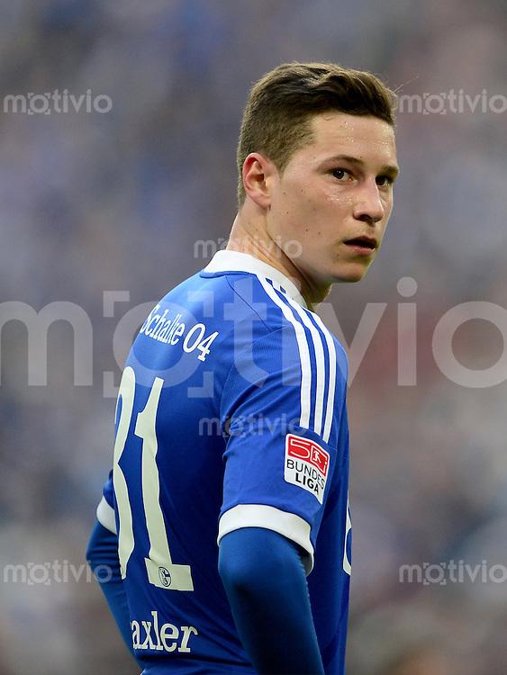 FUSSBALL   1. BUNDESLIGA   SAISON 2012/2013    29. SPIELTAG FC Schalke 04 - Bayer 04 Leverkusen                        13.04.2013 Julian Draxler (FC Schalke 04)