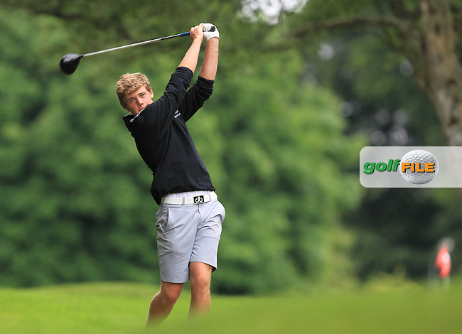 Cathal Nolan (Galway) on the 3rd tee during Round 4 of the 2016 Connacht Strokeplay Championship at Athlone Golf Club on Sunday 12th June 2016.<br /> Picture:  Golffile | Thos Caffrey