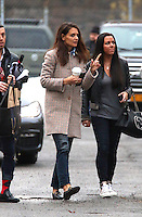 www.acepixs.com<br /> <br /> January 11 2017, New York City<br /> <br /> Actress Katie Holmes was on the set of the new movie 'Ocean's 8' on January 11 2017 in New York City<br /> <br /> By Line: Zelig Shaul/ACE Pictures<br /> <br /> <br /> ACE Pictures Inc<br /> Tel: 6467670430<br /> Email: info@acepixs.com<br /> www.acepixs.com