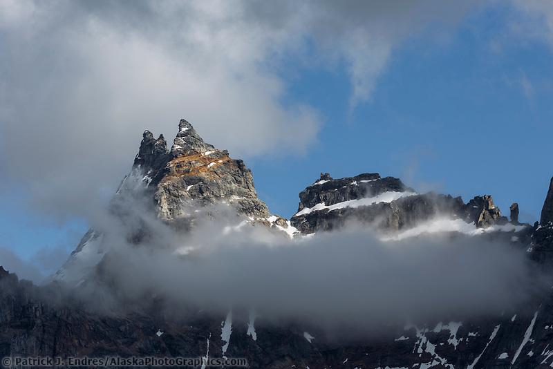 Tupik towers, Brooks Range, Gates of the Arctic National Park, Alaska