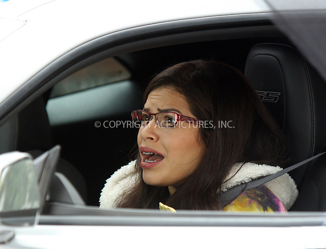 WWW.ACEPIXS.COM . . . . .  ....September 18 2009, New York City....Actress America Ferrera on the Brooklyn set of the TV show Ugly Betty on September 18 2009 in New York City....Please byline: AJ Sokalner - ACEPIXS.COM..... *** ***..Ace Pictures, Inc:  ..tel: (212) 243 8787..e-mail: info@acepixs.com..web: http://www.acepixs.com