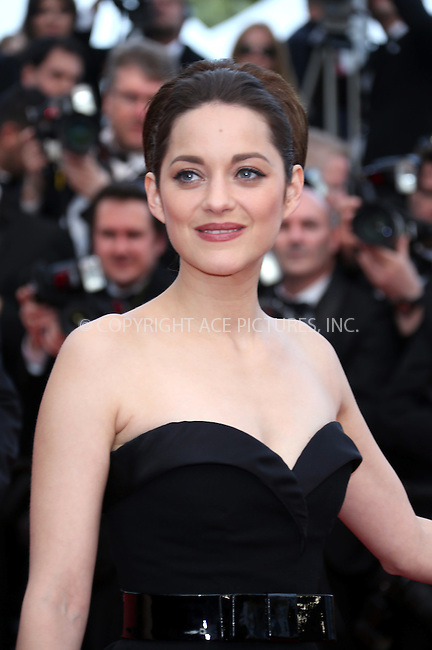 WWW.ACEPIXS.COM . . . . .  ..... . . . . US SALES ONLY . . . . .....May 17 2012, Cannes....Marion Cotillard at the premiere of 'Rust and Bones' during the Cannes Film Festival on May 17 2012 in Cannes, France ....Please byline: FAMOUS-ACE PICTURES... . . . .  ....Ace Pictures, Inc:  ..Tel: (212) 243-8787..e-mail: info@acepixs.com..web: http://www.acepixs.com