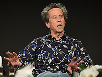 """PASADENA - JANUARY 13: Executive Producer Brian Grazer during the """"GENIUS: PICASSO"""" panel at the NATIONAL GEOGRAPHIC portion of the 2018 Winter TCA Press Tour at the Langham Huntington Hotel on January 13, 2018, in Pasadena, California. (Photo by Frank Micelotta/National Geographic/PictureGroup)"""