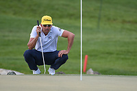 Rafael Cabrera Bello (ESP) lines up his putt on 13 during round 3 of the Arnold Palmer Invitational at Bay Hill Golf Club, Bay Hill, Florida. 3/9/2019.<br /> Picture: Golffile | Ken Murray<br /> <br /> <br /> All photo usage must carry mandatory copyright credit (© Golffile | Ken Murray)