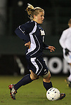 04 December 2009: Notre Dame's Michele Weissenhofer. The University of North Carolina Tar Heels defeated the Notre Dame University Fighting Irish 1-0 at the Aggie Soccer Complex in College Station, Texas in an NCAA Division I Women's College Cup Semifinal game.