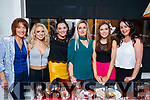 Mods and Minis staff enjoying their Christmas party at The Denny Lane restaurnt, Tralee, on Saturday night last were l-r: Gill Lynch, Megan Ryan, Joanne O'Sullivan, Alison Lyne, Lorraine Lyne and Kerrie McCord.
