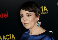 04 January 2019 - Los Angeles, California - Olivia Colman. 8th AACTA International Awards hosted by the Australian Academy held at SKYBAR at Mondrian Los Angeles.        <br /> CAP/ADM<br /> ©ADM/Capital Pictures