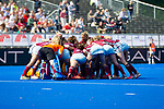 Krefeld, Germany, May 18: During the Final4 semi-final fieldhockey match between UHC Hamburg and Club an der Alster on May 18, 2019 at Gerd-Wellen Hockeyanlage in Krefeld, Germany. (worldsportpics Copyright Dirk Markgraf) ***