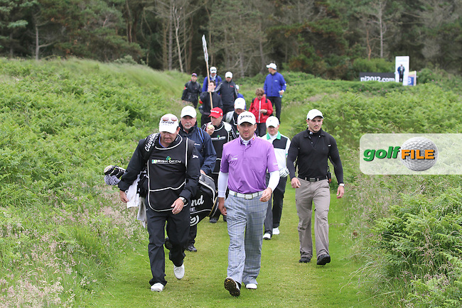 on Day 2 of the 2012 Irish Open at Royal Portrush Golf Club, Portrush, Co.Antrim, 29/6/12...(Photo Jenny Matthews/www.golffile.ie)