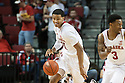 November 30, 2013: Shavon Shields (31) of the Nebraska Cornhuskers brings the ball down court against the Northern Illinois Huskies at the Pinnacle Bank Areana, Lincoln, NE. Nebraska defeated Northern Illinois 63 to 58.