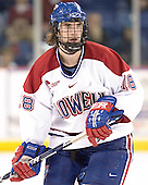Jake Pence - The Boston College Eagles defeated the University of Massachusetts-Lowell River Hawks 4-3 in overtime on Saturday, January 28, 2006, at the Paul E. Tsongas Arena in Lowell, Massachusetts.